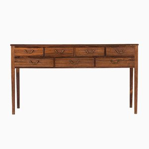 Vintage Rosewood Sideboard by Ole Wanscher for A.J. Iversen