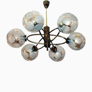 Lámpara de araña Orbit Sputnik, años 60