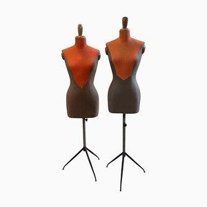 Italian Tailor's Mannequins, 1950s, Set of 2