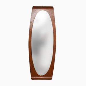 Specchio Mid-Century in teak di Franco Campo e Carlo Graffi, Italia, anni '50