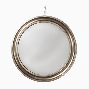 Runder Spiegel mit Metall Rahmen von Sergio Mazza für Artemide, 1961