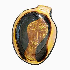 Scodella in ceramica di Jacques Pouchain, anni '60