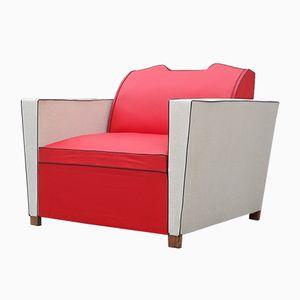 Moleskin Schlaf Sessel, 1950er