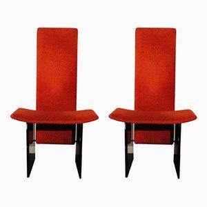 Sedie modello Kazuki di Kazuhide Takahama per Gavina, anni '60, set di 2