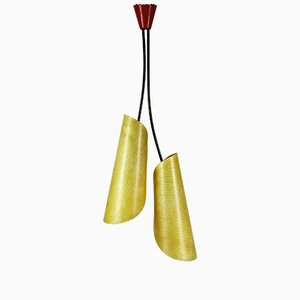 Lámpara de techo modelo 1209 de Josef Hurka para Napako, años 60
