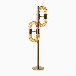 Lámpara de pie Mid-Century de Aldo Nason para Mazzega
