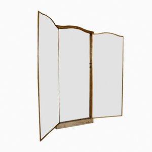 Miroir de Tailleur 19ème Siècle en Laiton