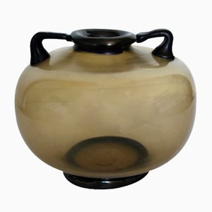 Italienische Vase von Vittorio Zecchin für MVM Cappellin, 1925