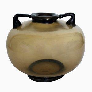 Vase par Vittorio Zecchin pour MVM Cappellin, Italie, 1925