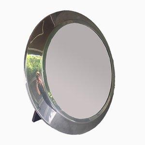 Vintage Circular Mirror, 1950s