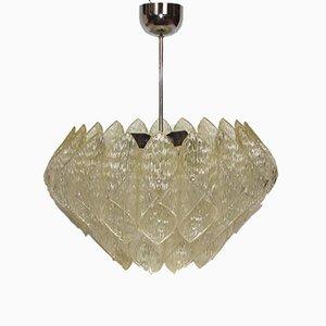Lámpara colgante de acrílico, años 60