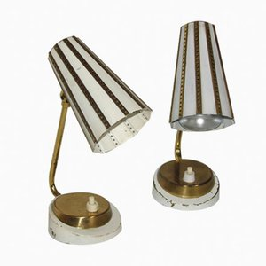 Mid-Century Lamps, 1960s, Set of 2