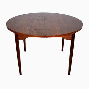 Danish Extendable Teak Dining Table, 1960s
