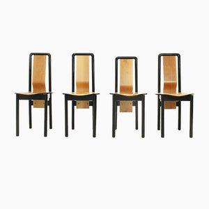 Chaises de Salle à Manger par Pierre Cardin, 1980s, Set de 4