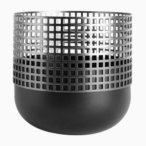Medium Mia Vase in Black by Serena Confalonieri for Mason Editions