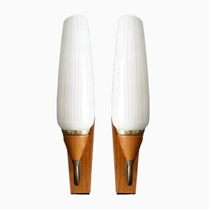 Mid-Century Modern Wall Lamps, Set of 2