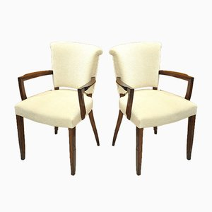 Art Déco Armchairs by Jules Leleu for Maison Leleu, 1930s, Set of 2