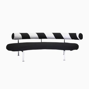 Black & White Sofa by Antonio Citterio for Flexform, 1980s
