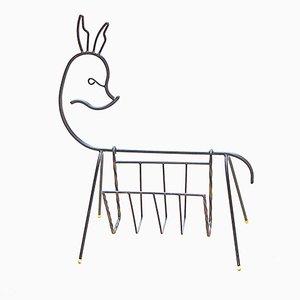 Portariviste a forma di cervo, anni '60