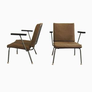 Model 415/1401 Armchairs by Wim Rietveld for Gispen, 1950s, Set of 2