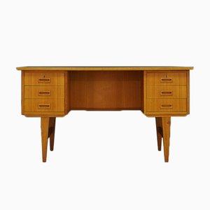 Mid-Century Esche Schreibtisch