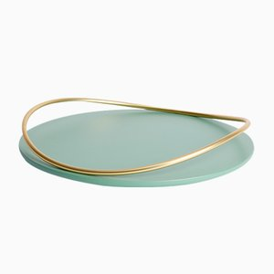 Touché A Tray in Sage by Martina Bartoli for Mason Editions