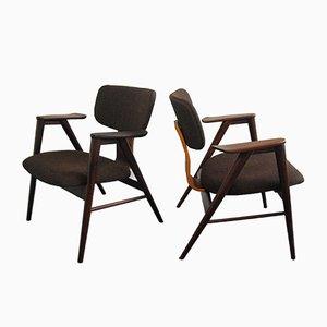 FB14 Teak Armchairs by Cees Braakman for Pastoe, 1950s, Set of 2