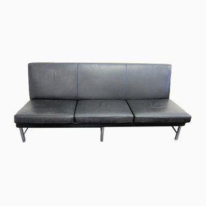 3-Sitzer Leder Sofa von Thonet, 1960er