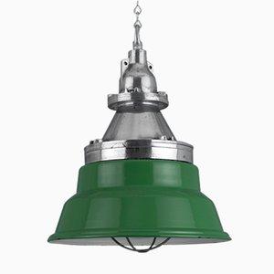 Lámpara colgante industrial vintage de Heyes & Co Wigan