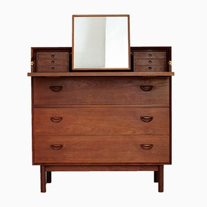 Vanity Chest or Secretaire by Peter Hvidt & Orla Mørlgaard Nielsen for Søborg, 1960s