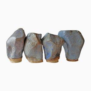 Esculturas Stones of Venice de AnnaLeaClelia Tunesi, 2018. Juego de 4