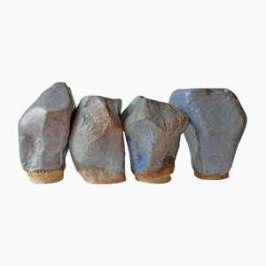 Stones of Venice Sculptures by AnnaLeaClelia Tunesi, 2018, Set of 4
