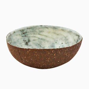 Dolomite White Dip Bowl from Kana London