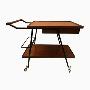 Vintage Iron & Wood Tea Trolley