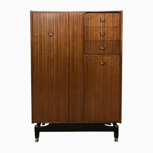 Mid-Century British Tola Wardrobe in Mahogany by R. Bennett for G-Plan, 1960s