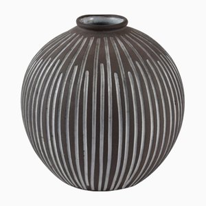 Mid-Century Ceramic Vase from Helga Hostergaard