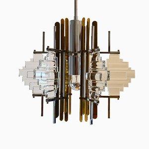 Hollywood Regency Pendant Lamp from Sciolari, 1960s