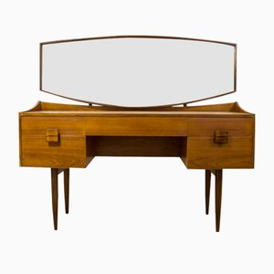 Teak & Afromosia Dressing Table with Rosewood by Ib Kofod Larsen for G-Plan, 1960s