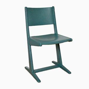 Sedia da bambino blu, anni '60