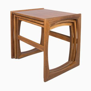 Vintage Nesting Teak Coffee Tables from Stonehill