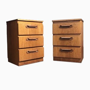 Mid-Century Chest of Drawers from J.S Sakol, Set of 2