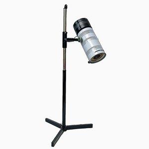 Lámpara de pie médica industrial vintage de ZALIMP, años 80