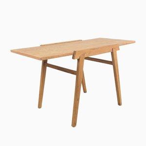 Tavolino da caffè in quercia, anni '60