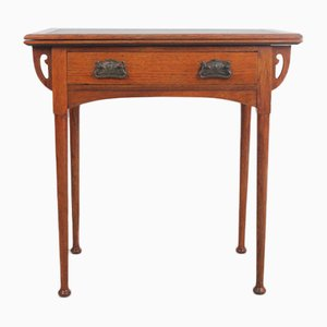 Vintage Viennese Secession Card Table