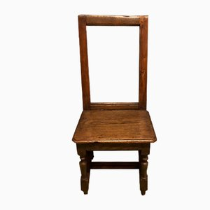 18th-Century Oak Lorraine Chair