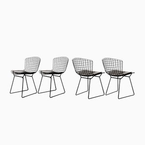 Wire Chairs by Harry Bertoia for Knoll International, 1960s, Set of 4