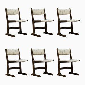 Chaises de Salon Vintage de Farstrup, Set de 6