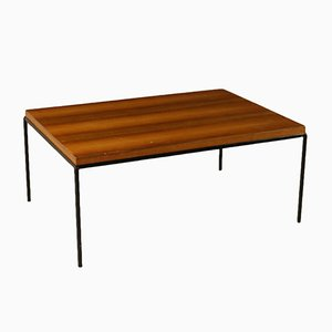 Italian Mahogany Veneered Coffee Table, 1960s