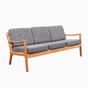 Senator 166 3-Sitzer Sofa von O. Wanscher für France & Daverkosen, 1960er