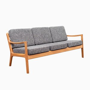 Senator 166 Three-Seater Sofa by O. Wanscher for France & Daverkosen, 1960s